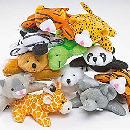 """Baker Ross Bean Pals """"Kleine Tiere"""" - Stofftiere für Kinder - Spielzeug als Mitgebsel und Preis beim Kindergeburtstag (10 Stück)"""