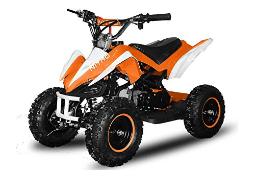 49cc 2-TAKT Kinder-QUAD PYTHON 6' in Orange