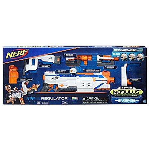 Hasbro C1294EU4 - N-Strike Modulus Regulator vollautomatischer Spielzeugblaster