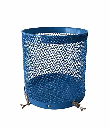 scheppach Siebtrommel für Betonmischer (76 Liter Volumen, 46 cm Durchmesser, Universalhalterung für Mischer mit gebördelten Rand) 7908401702 blau