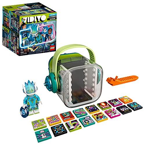 LEGO 43104 VIDIYO Alien DJ Beatbox Music Video Maker Musik Spielzeug für Kinder, AR Set App mit Minifigur