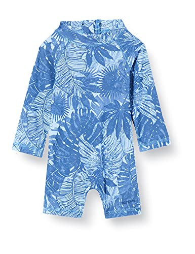 Noppies Baby-Jungen B Swimsuit Tadil Badeanzug, Powder Blue-P673, 86-92