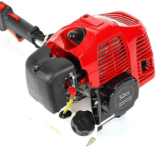 52CC Benzin Schneefräse Schneeschieber Kehrmaschine Motorbesen Schneeräumer Benzinmotor Schnee Räumgenrät 2.3HP 1700W