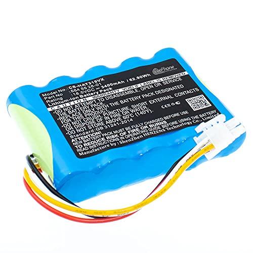 cellePhone Akku Li-Ion kompatibel mit Husqvarna Automower 310 315 - Gardena Sileno City 250 500 Sileno+ (Ersatz für 584 85 28-01) - 3400 mAh