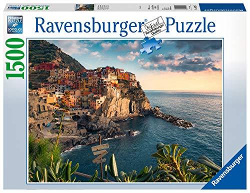 Ravensburger Puzzle 16227 - Blick auf Cinque Terre - 1500 Teile Puzzle für Erwachsene und Kinder ab 14 Jahren, Puzzle mit Landschafts-Motiv