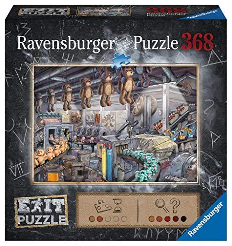 Ravensburger 16484 EXIT Puzzle In der Spielzeugfabrik, Puzzle Für Erwachsene Und Kinder Ab 12 Jahren, 368 Teile