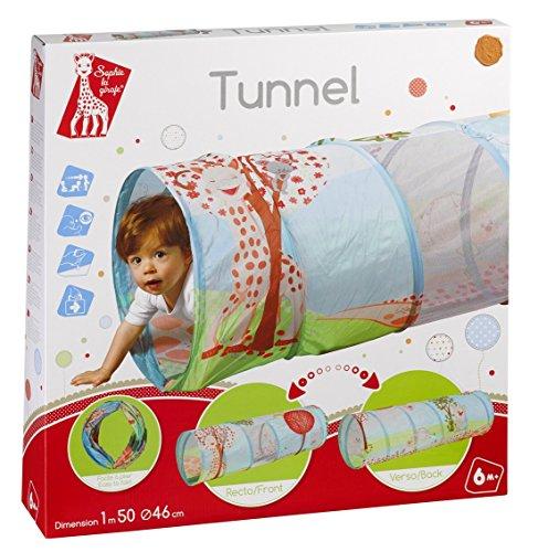VULLI 240111 Tunnel Sophie la girafe, mehrfarbig