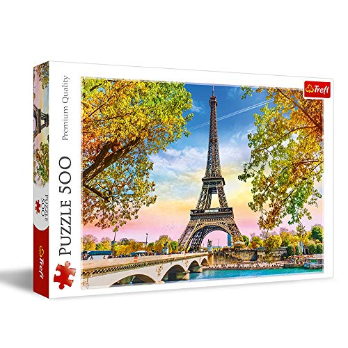 Trefl, Puzzle, Romantisches Paris, 500 Teile, für Kinder ab 10 Jahren