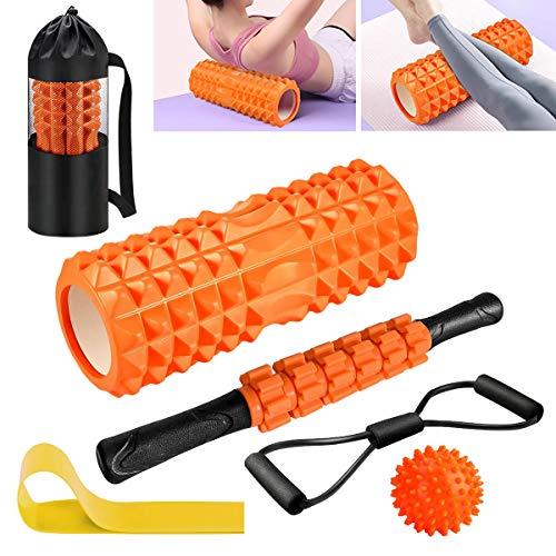Faszienrolle Set Roller Massagerollen Duoball Massageball