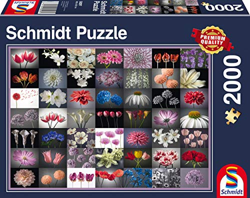 Schmidt Spiele 58297 - Blumengruß, Puzzle, 2000 Teile