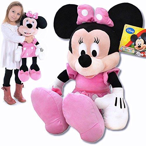 Disney Plüschtier Minnie Maus große XXL Plüschfigur Micky Maus Wunderhaus 62cm