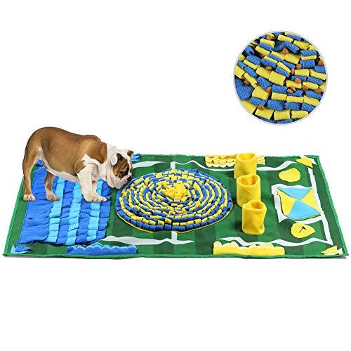 YOUTHINK Schnüffelteppich Hund 100 * 66cm Schnüffelrasen Groß Hundespielzeug Riechen Trainieren Matte Fördert Natürliche Nahrungssuche für Haustier, Hunde Intelligenzspielzeug Trainingsmatte