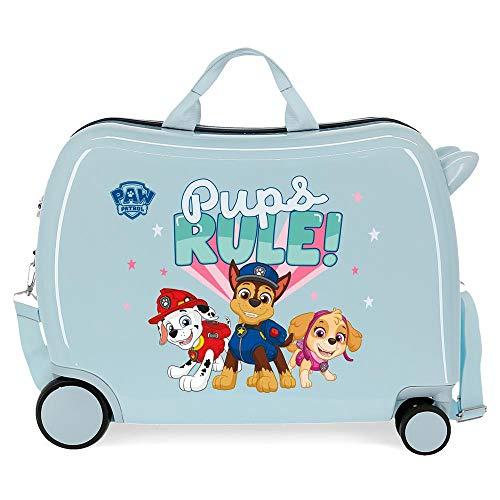 Paw Patrol Paw Patrol Playful Kinderkoffer, Blau, 50 x 38 x 20 cm, starrer ABS-Kombinationsverschluss seitlich, 34 l, 3 kg, 4 Gepäckstücke