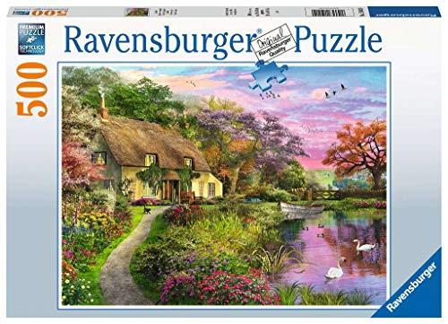 Ravensburger Puzzle 15041 - Landliebe - 500 Teile Puzzle für Erwachsene und Kinder ab 10 Jahren, Landschaftspuzzle