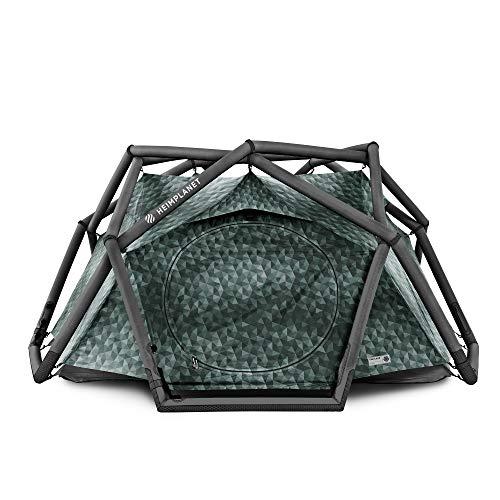HEIMPLANET Original | THE CAVE 2-3 Personen Kuppelzelt | Aufblasbares Camping Zelt - In Sekunden errichtet | Wasserdichtes Außenzelt und Zeltboden - 5000mm Wassersäule | Keine Zeltstangen nötig | Unterstützt 1% For The Planet