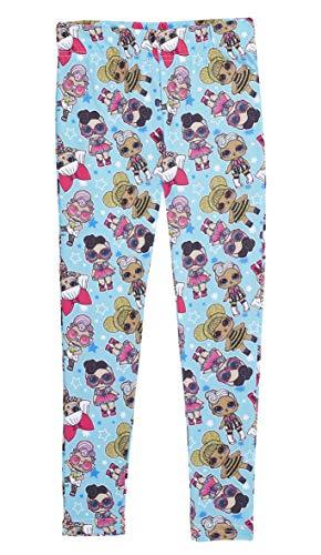 L.O.L. Surprise ! LOL Surprise Leggings für Mädchen | Sportswear Strumpfhose Hose Gamaschen für Kinder | Geschenke für Mädchen 4-12 Jahre (7/8 Jahre, 1Er-Pack)