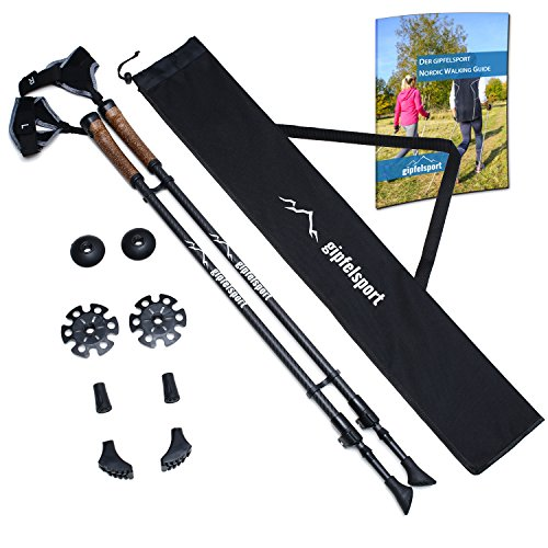 gipfelsport Nordic Walking Stöcke Carbon