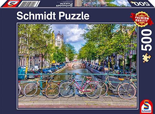 Schmidt Spiele 58942 Amsterdam, 500 Teile Puzzle, bunt