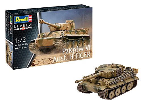 Revell 03262 Modellbausatz PzKpfw VI AUSF. H Tiger