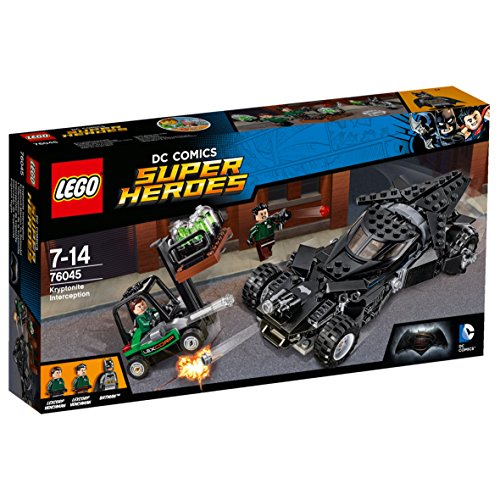 LEGO Super Heroes 76045 - Kryptonit-Mission im Batmobil, Superhelden-Spielzeug