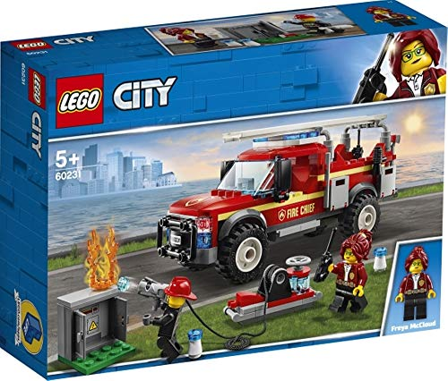 LEGO® City Feuerwehr-Einsatzleitung