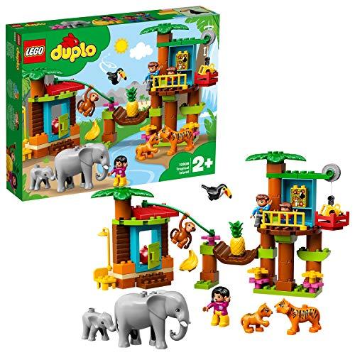LEGO 10906 Duplo Town - Baumhaus im Dschungel, Bausteine
