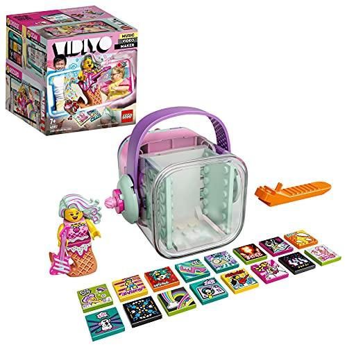 LEGO 43102 VIDIYO Candy Mermaid Beatbox Music Video Maker Musik Spielzeug für Kinder, AR App Set mit Meerjungfrau Minifigur