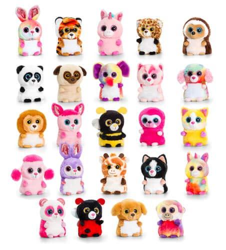10cm Mini Motsu Assorted - Keel Toys Random Selection