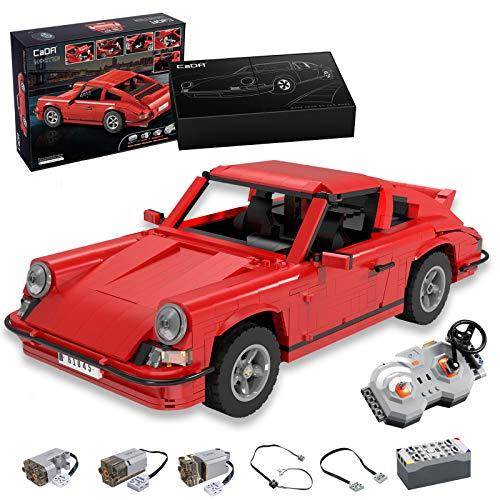CADA Master C61045W 1429PCS Retro Technik Sportwagen RS mit Fernbedienung, kleines baustein spielzeugset
