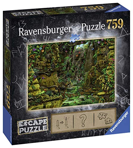 Ravensburger 19957 Exit Tempel in Angkor Wat 759 Teile Mystery Puzzle, Mehrfarbig