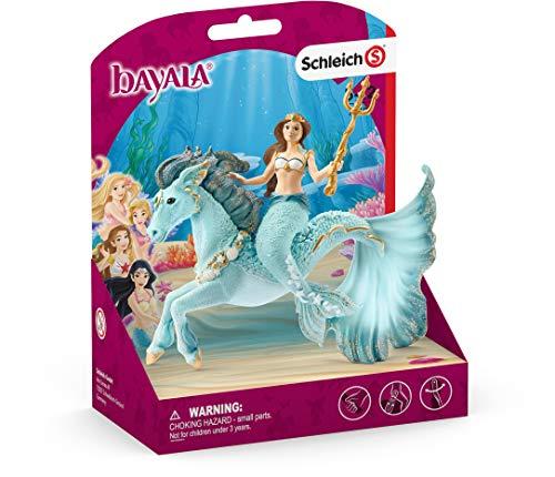 SCHLEICH 70594 Meerjungfrau-Eyela auf Unterwasserpferd bayala