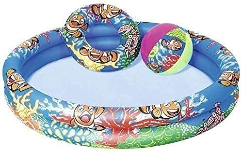 HJQFDC Faltungsschwimmbad, aufblasbarer Swimmingpool, Ozean-Ballpool, Kinderwating Pool, Garten Party Spielzeug Party Toys Peng MEI