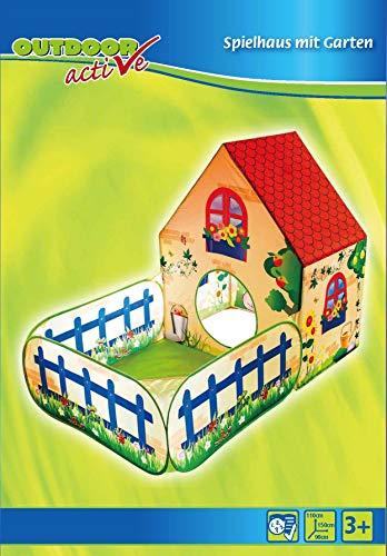 Outdoor active Pop-up Spielhaus mit Bällebad, (ohne Bälle)