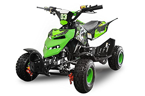 Nitro Motors 49cc Kinderquad Repti 4' Miniquad Mini Quad ATV Bike Kinder (Grün)