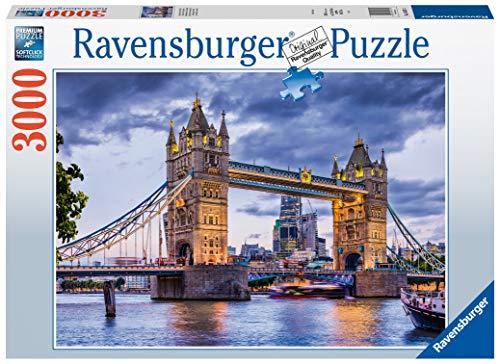Ravensburger Puzzle 16017 - London, du schöne Stadt - Puzzle mit 3000 Teilen für Erwachsene in bewährter Ravensburger Qualität
