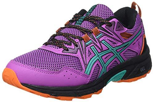ASICS Damen Gel-Venture 8 Trail Running Shoe, Digital Grape/Baltic Jewel, 42 EU