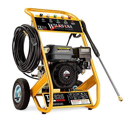 Wilks-USA TX625 Benzin-Hochdruckreiniger Quick Connect Düsenaufsätze 7,0 PS - 3950 PSI / 272 bar