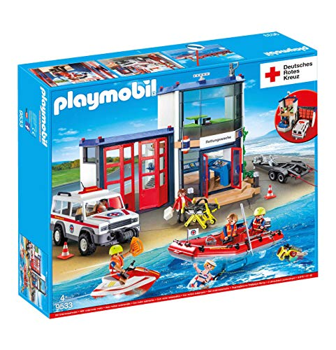 Playmobil 9533 Drk Mega Set Rettungswache