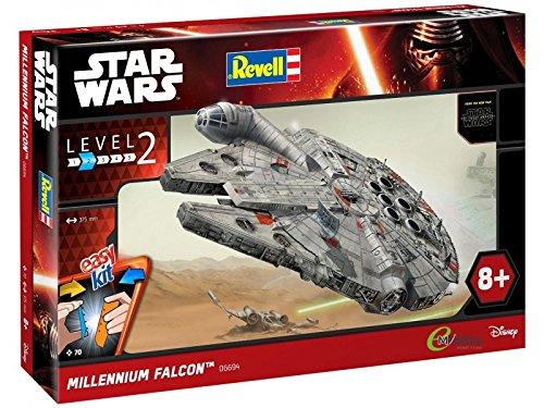 Revell 06694 - Star Wars Millennium Falcon im Maßstab 1:72 Level 2, Modellbausatz