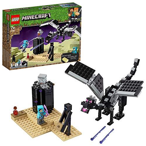 LEGO 21151 Minecraft Das letzte Gefecht, Bauset für Sammler