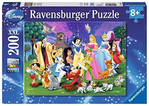 Ravensburger Kinderpuzzle 12698 - Disney Lieblinge - 200 Teile