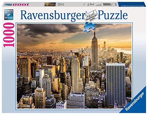 Ravensburger Puzzle 19712 - Großartiges New York - 1000 Teile Puzzle für Erwachsene und Kinder ab 14 Jahren, Stadt-Puzzle von New York