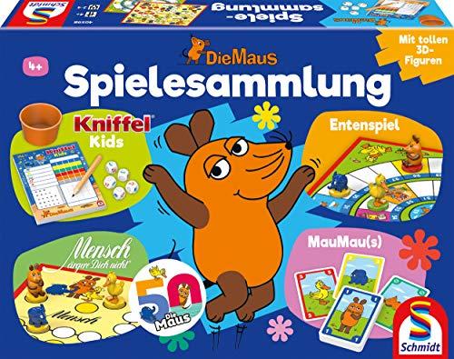 Schmidt Spiele 40598 Die Maus, Spielsammlung, Bunt
