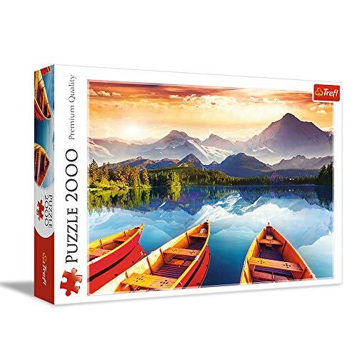 Trefl 27096 Puzzle, Kristallsee, 2000 Teile, Premium Quality, für Kinder ab 15 Jahren