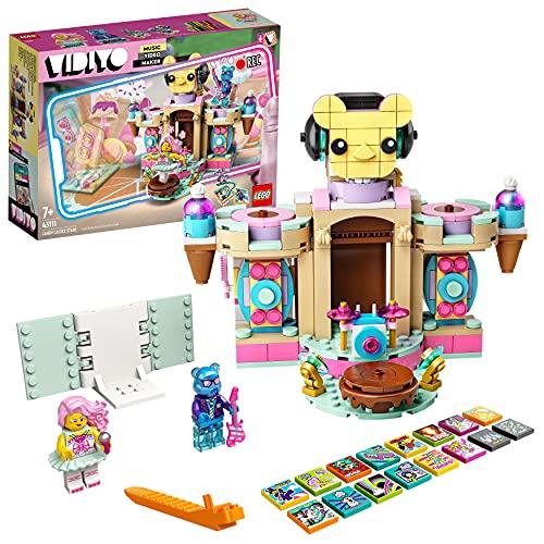 LEGO 43111 VIDIYO Candy Castle Stage Beatbox Music Video Maker, Musik Spielzeug Set für Kinder mit AR App