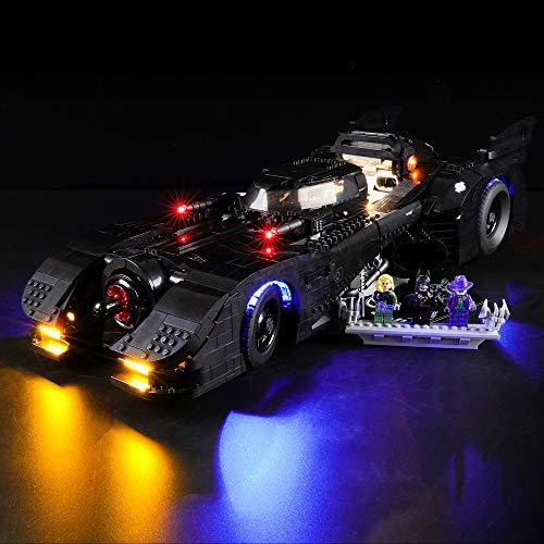 BRIKSMAX Led Beleuchtungsset für Lego Batmobile,Kompatibel Mit Lego 76139 Bausteinen Modell - Ohne Lego Set