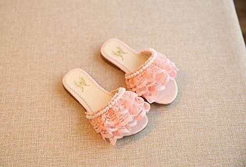 Kinderpool Shoessummer M?dchen Hausschuhe, Kindersandalen und Hausschuhe, M?dchen rutschfeste Prinzessin Schuhe Strandschuhe-Pink_31