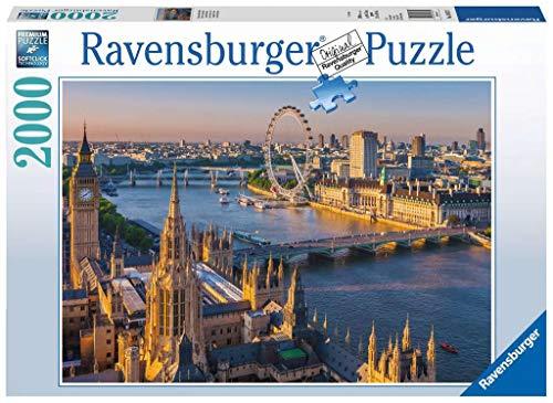 Ravensburger Puzzle 16627 - Stimmungsvolles London - 2000 Teile Puzzle für Erwachsene und Kinder ab 14 Jahren, Stadt-Puzzle mit London-Motiv