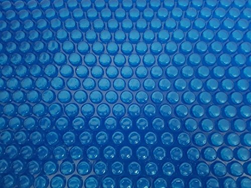 Solarfolie 400µm Rund d: 4,0m Poolabdeckung Schwimmbadfolie Luftpolsterabdeckung