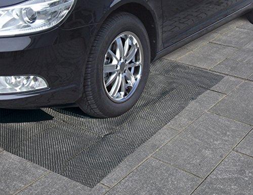 JOM Car Parts & Car Hifi GmbH 20694 Mardergitter Marderabwehr universal XL 190 x 150 cm Marderschutzgitter schwarz